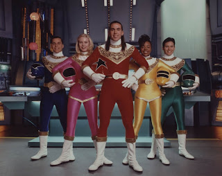 Power Rangers Zeo Tommy Rocky Adam Kat Tanya Red Blue Green Yellow Pink Helmetless