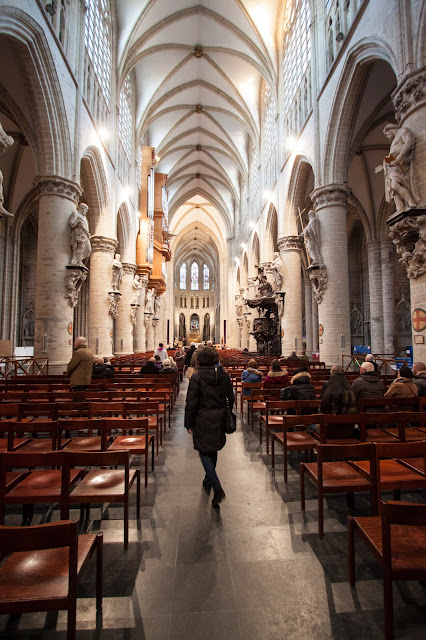 Cathédrale des sts-Michel e Gudule-Bruxelles