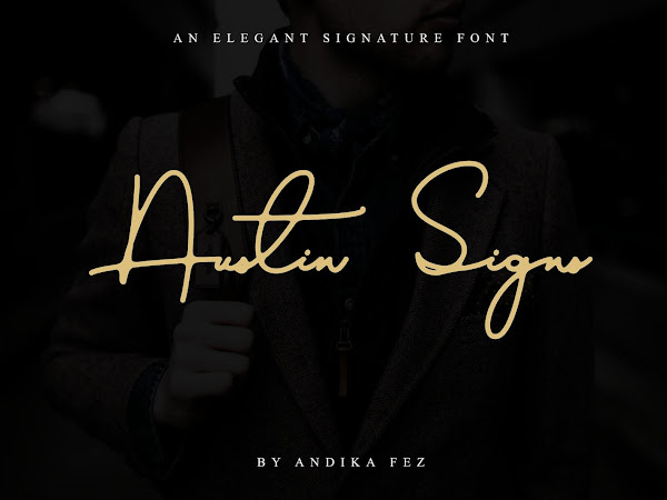 Austin Signs An Elegant Signature Font Free Download