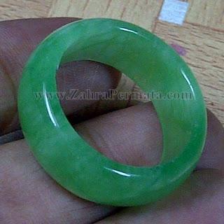 Cincin Batu Giok Jadeite Jade - ZP 1049