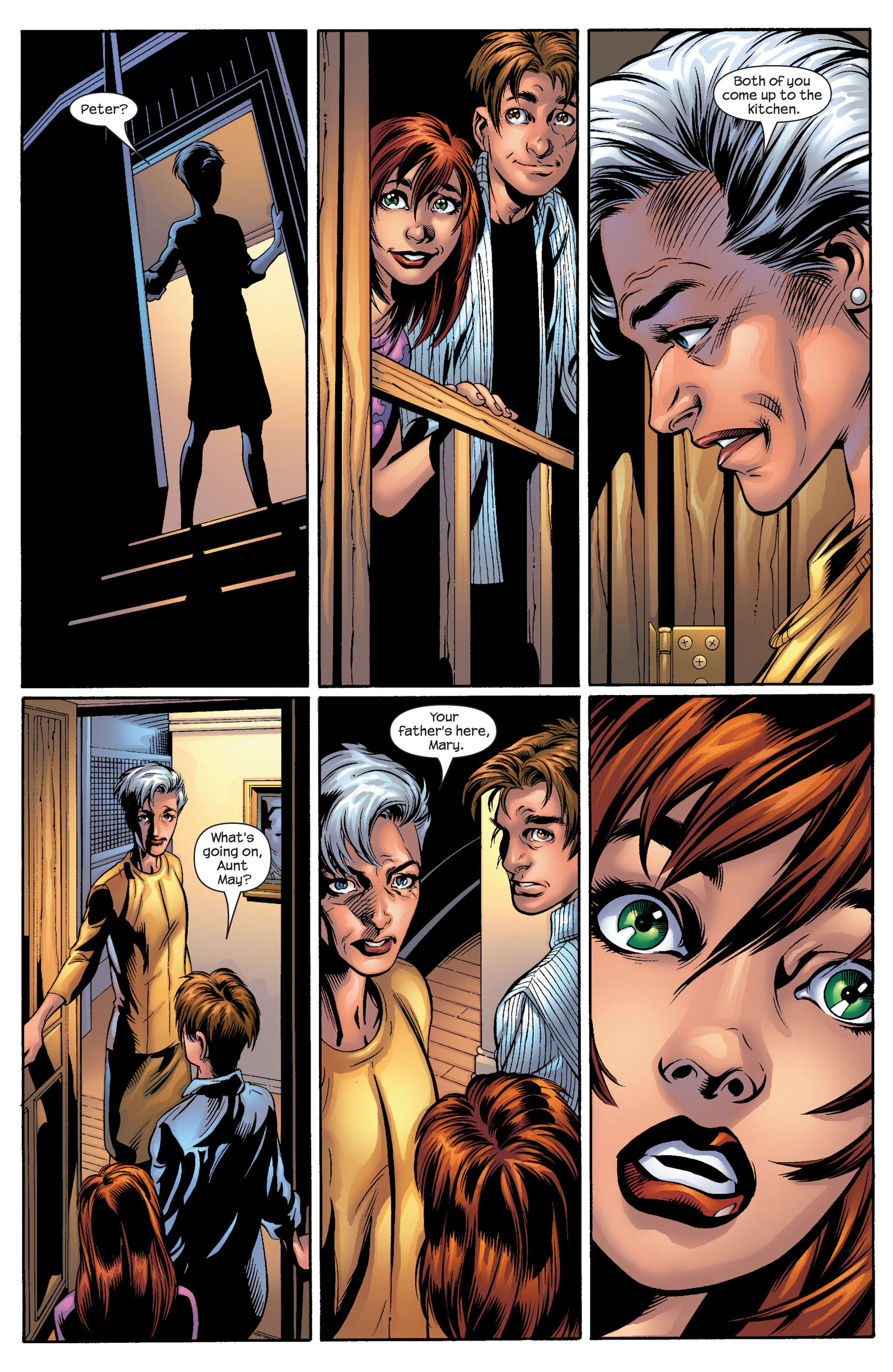 Read online Ultimate Spider-Man (2000) comic -  Issue #50 - 29
