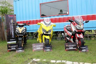 Motor-Motor MAXI Pemenang CustoMAXI Bali