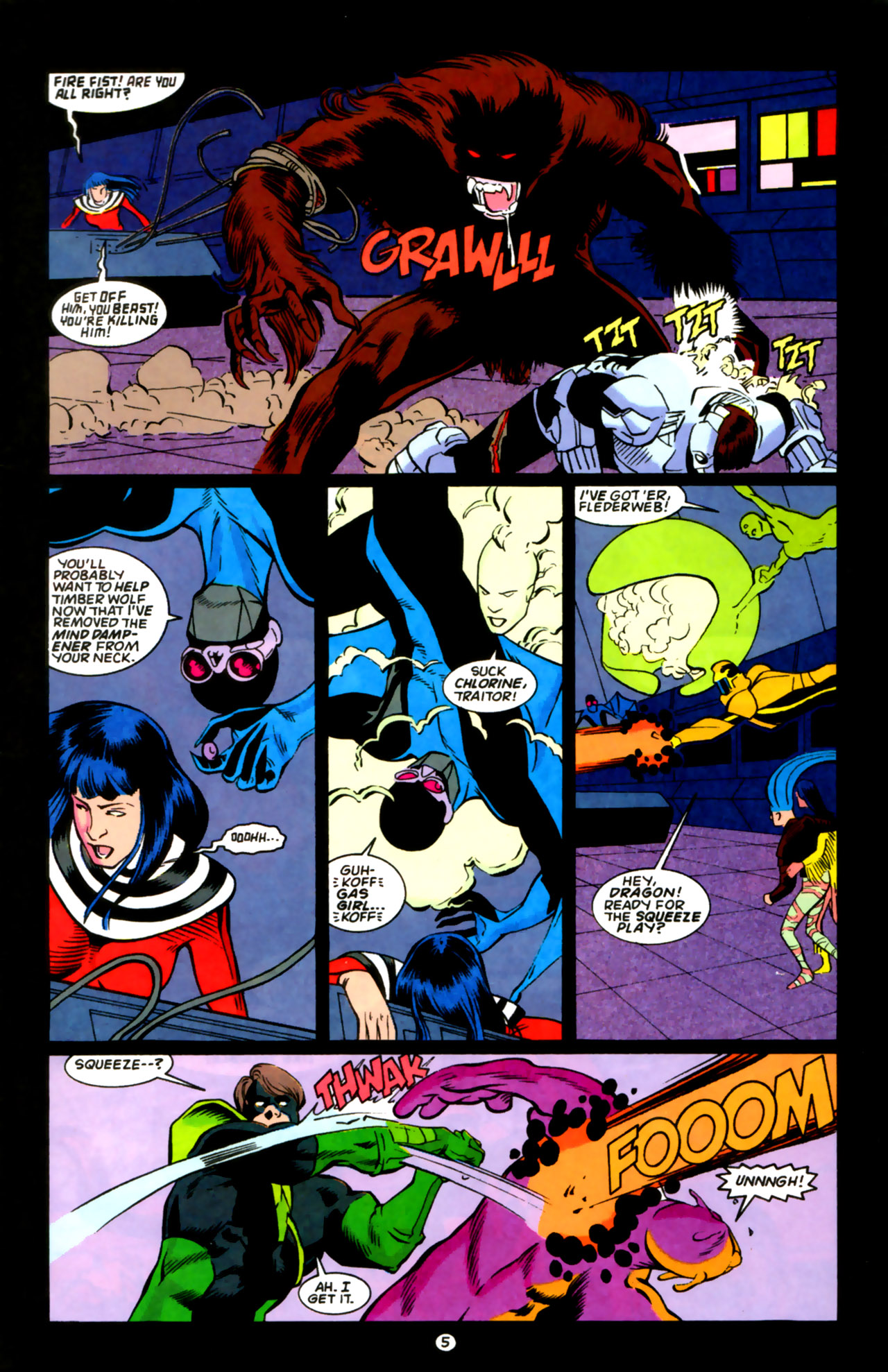 Legion of Super-Heroes (1989) 59 Page 5
