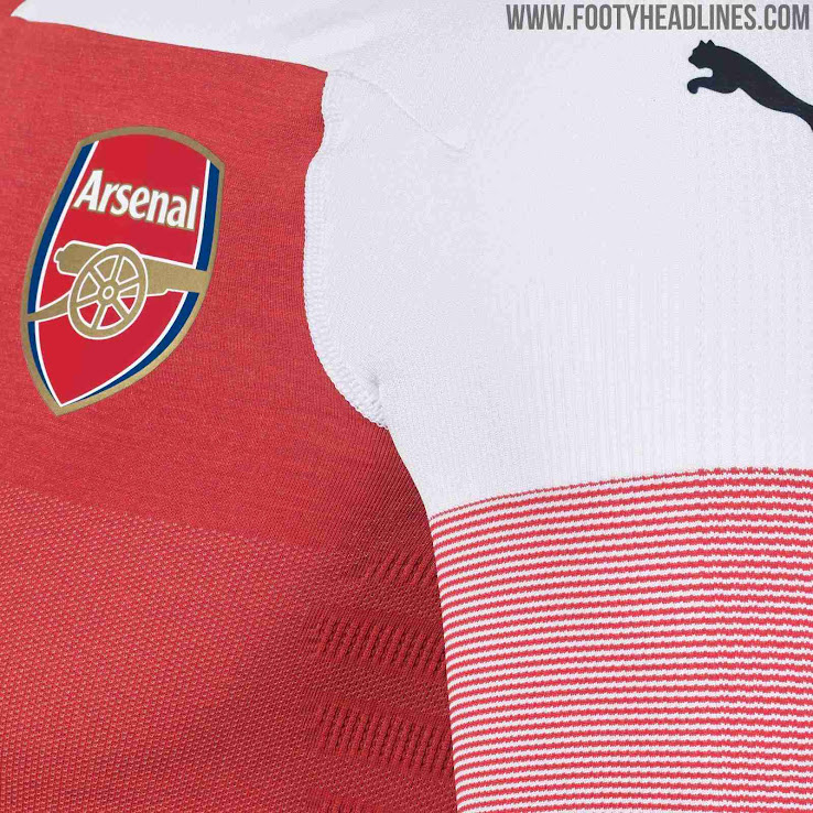 8ab7e630f Arsenal 18-19 Home Kit Released - Footy Headlines