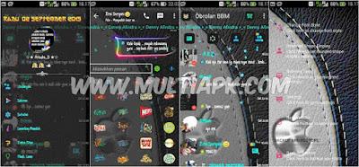 BBM Mod blur full transparan v2.9.0.51 Apk