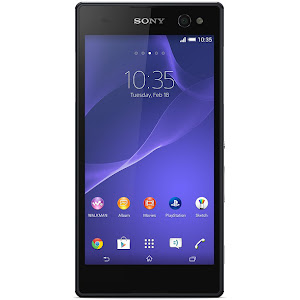 Sony Xperia C3 (front)