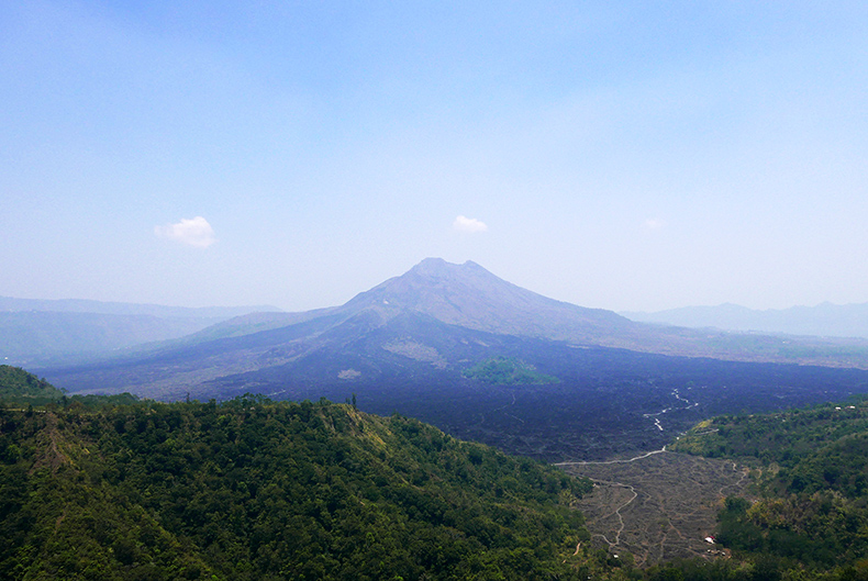 Euriental | fashion & luxury travel | Ubud, Bali, Mount Batur