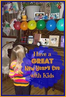 Simple New Year's Countdown for Kids