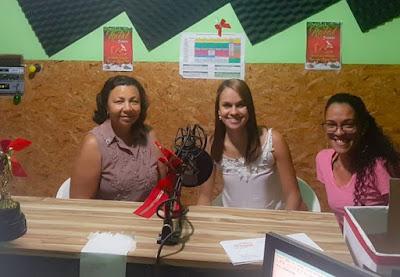 Profissionais do Creas falam sobre violência contra a mulher na Mairi FM