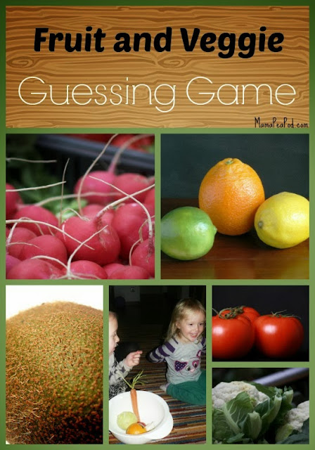 {Fruit and Vegetable Sensory Guessing Game for Vocabulary Development}