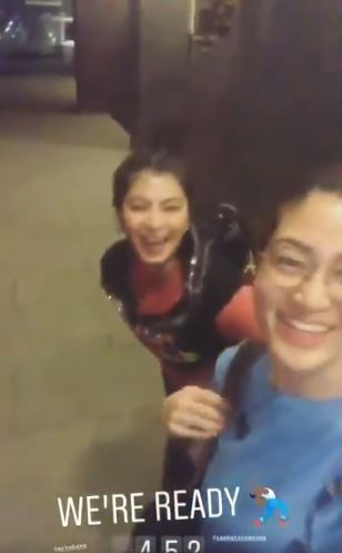 Angel Locsin With Her Friends, Looking Fresh Before The Climbed Mt. Batolusong