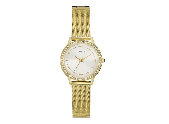 Ceas  auriu elegant de femei original Guess Jeans W0647L7