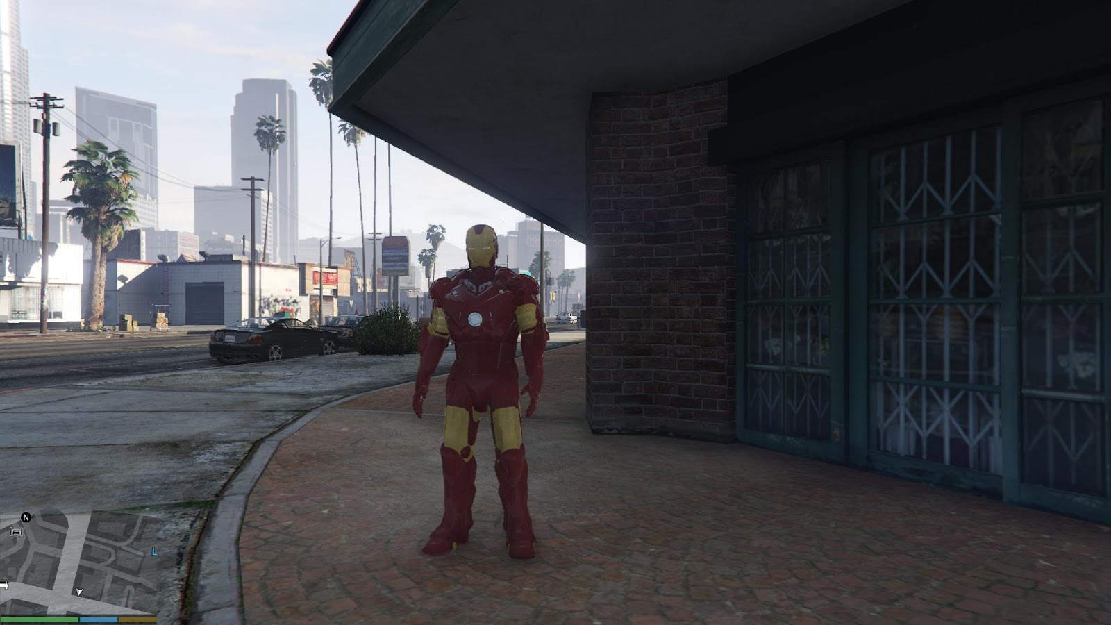 GTA X Scripting: GTA V - Ironman Mark III armor release and