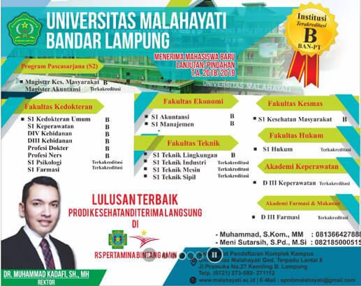 Jurusan Universitas Malahayati