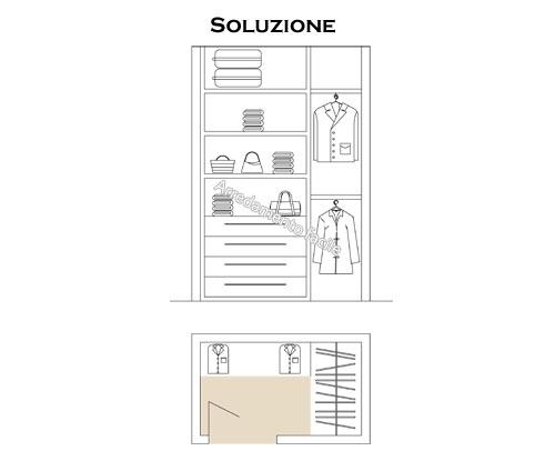 Idee e consigli su come ottimizzare una cabina armadio di piccole dimensioni
