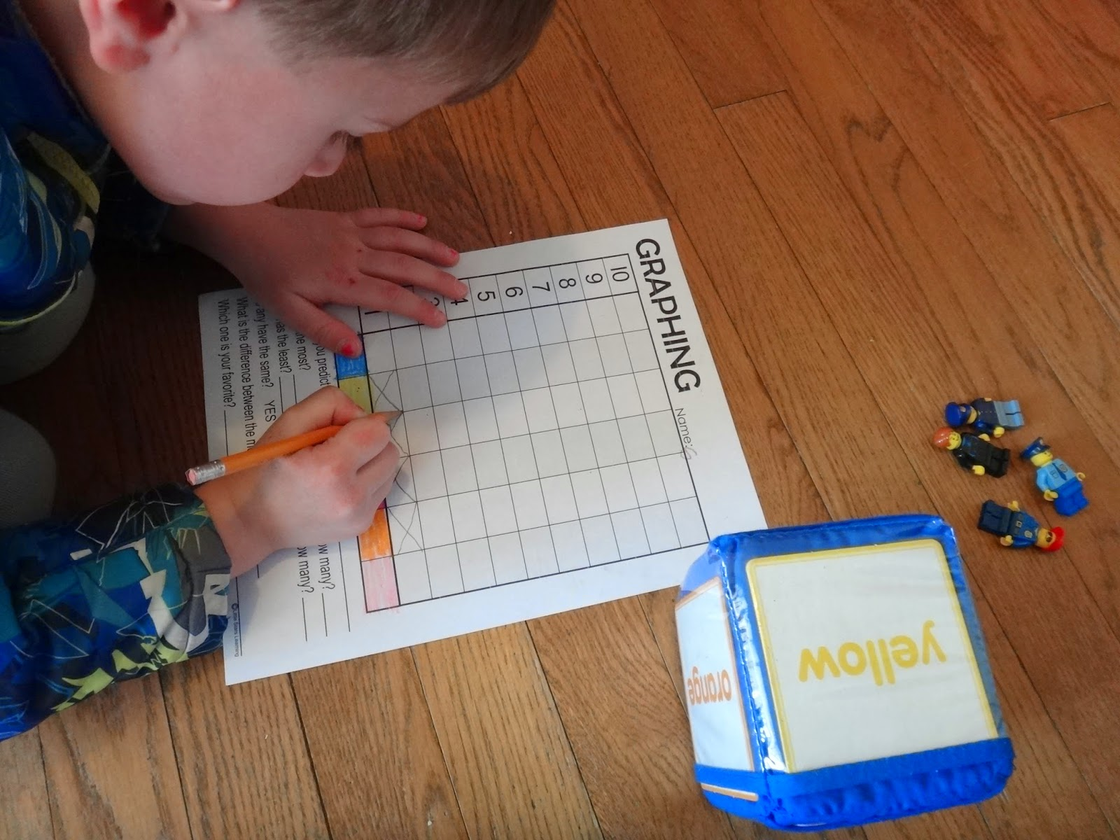 graphing worksheet preschool early elementary