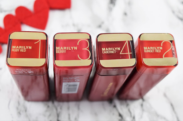 Max Factor Marilyn Monroe Colour Elixir Lipstick Shades