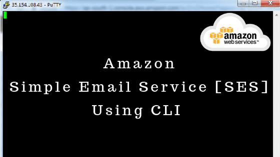 Amazon Simple Email Service [SES] Using CLI