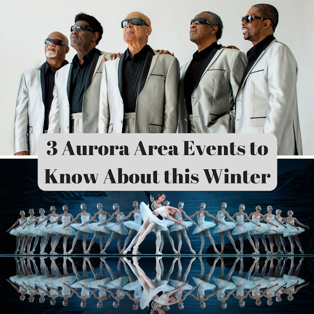 Stay Warm and Entertained this Winter at These 3 Events in the Aurora Area & A Giveaway