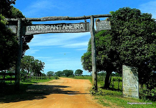 Rodovia Transpantaneira, Mato Grosso