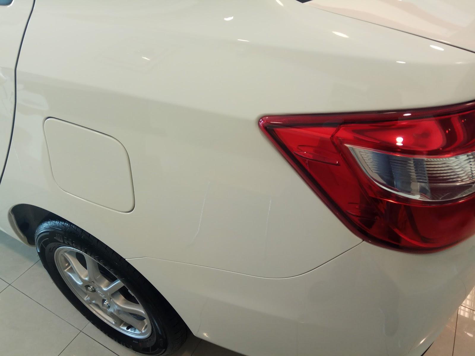 Koleksi gambar Perodua Bezza varian X