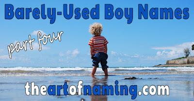 The Art of Naming - Unusual uncommon unique unpopular baby name