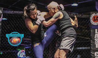 old lady mma fight