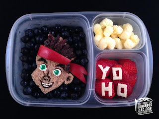 Pirates easy kids lunch in easy lunch boxes