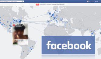فيس بوك يطلق ميزة Facebook Live Map التي تتيح  البث  المباشر في اي مكان حول العالم