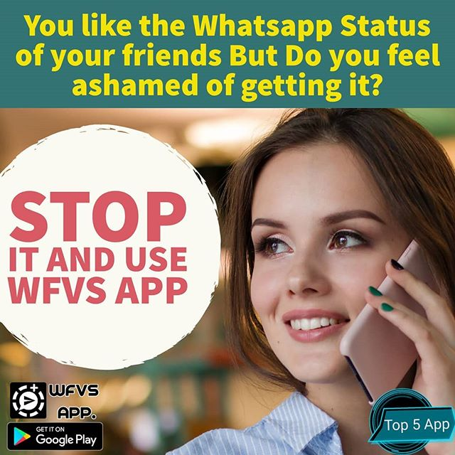 Education n Gk Hub: Download WFVS Application For use Whatsapp