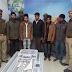 पुलिस ने मुठभेड़ के दौरान 5 अभियुक्तों को गिरफ्तार कर भेजा जेल