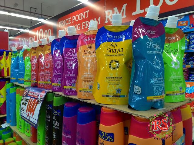 Safi Shayla Pek Fleksi | Syampu Wanita Bertudung