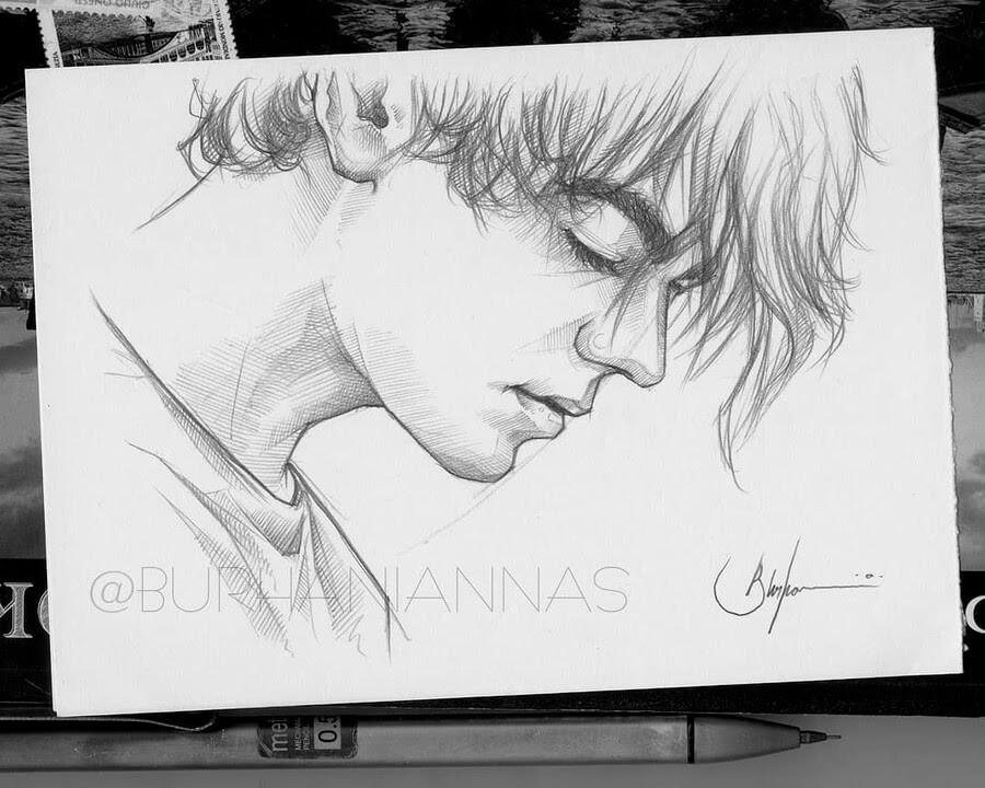 05-Quiet-meditation-Nas-Pencil-Drawings-www-designstack-co