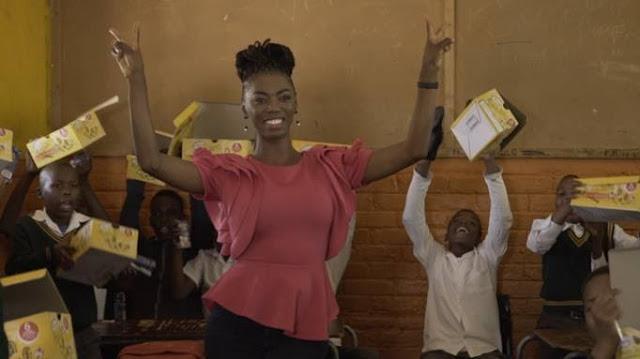 Photos: Thembisa Mdoda, Proverb And Lira Donate School Shoes To Thousands Of Kids Around Gauteng