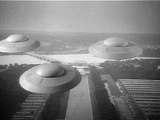 Earth vs. the Flying Saucers 1956 alien invasion movie
