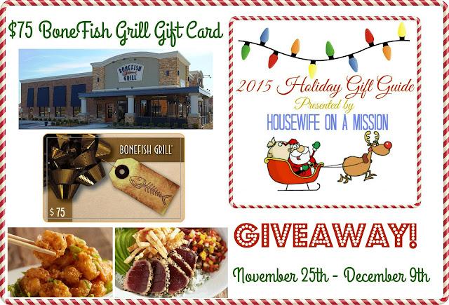 75 bonefish grill gift card for Fish bone grill menu