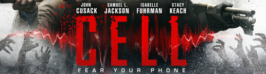 cell (2016) banner