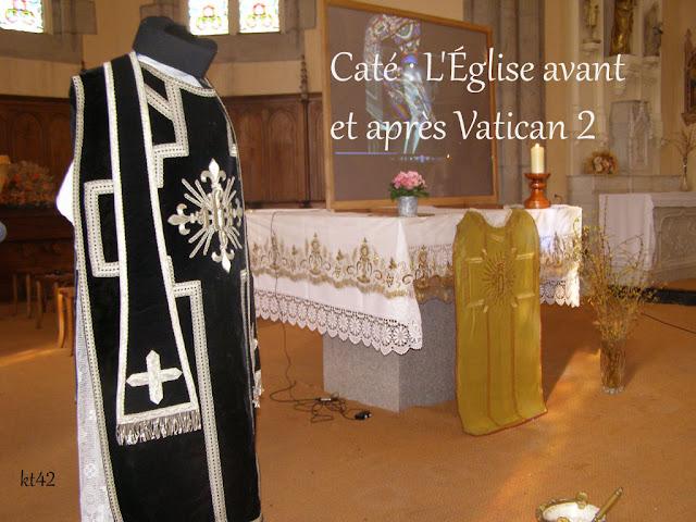 L'Église avant et après Vatican 2