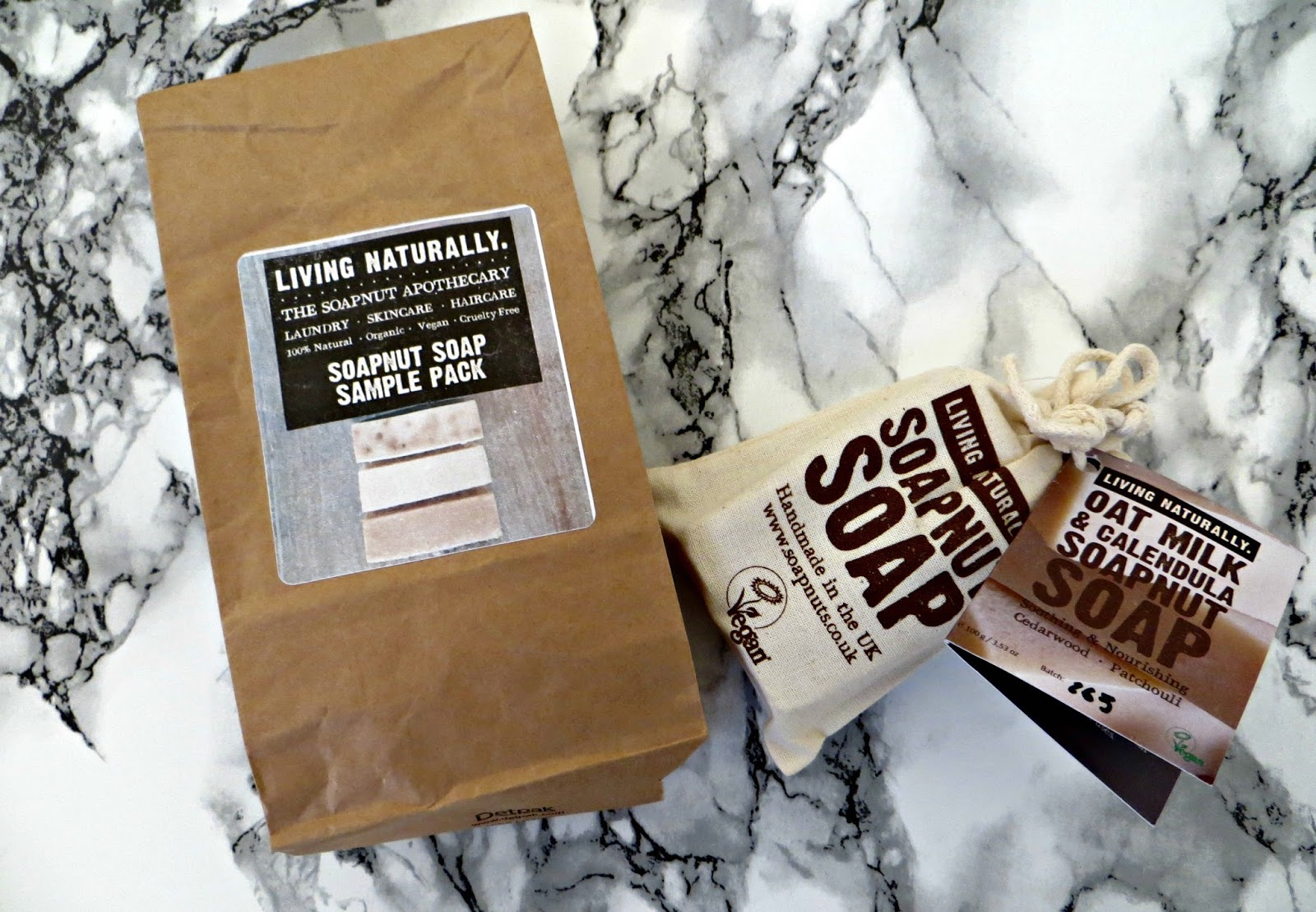 Living Naturally Soapnuts Soap review