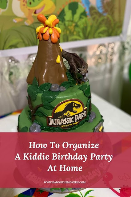Easy steps to organize a kiddie birthday party at home