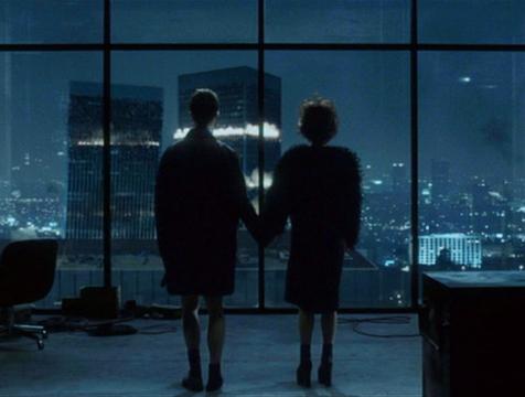 El Narrador (Edward Norton) y Marla Singer (Helena Bonham Carter) en el Club de la Lucha - Cine de Escritor