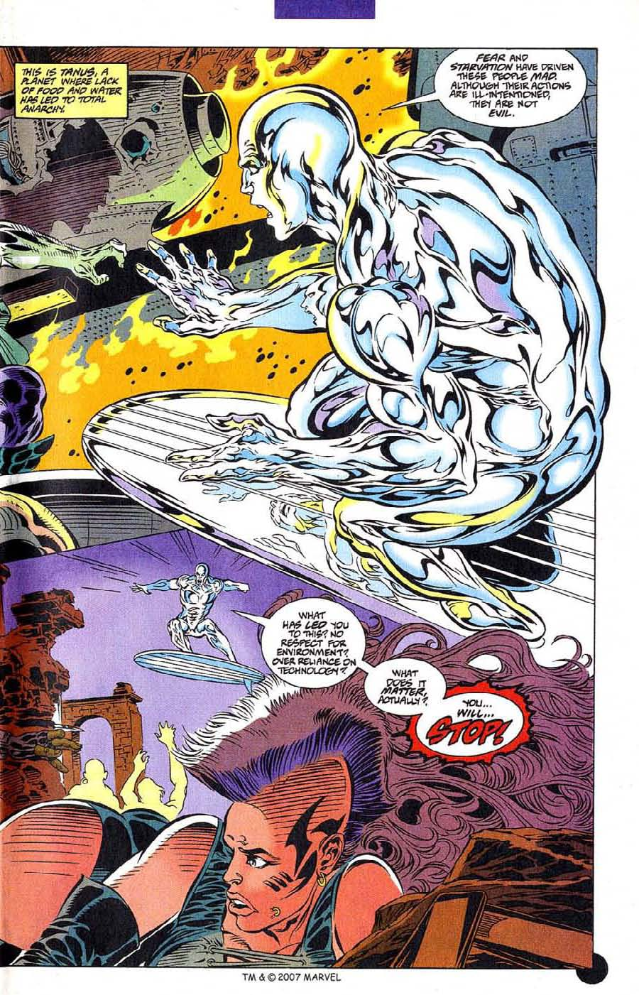 Read online Silver Surfer (1987) comic -  Issue #106 - 5