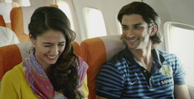 Disha Patani and Sushant Singh Rajput in Neeraj Pandey's M.S. Dhoni: The Untold Story