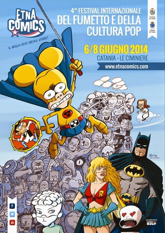 Etna Comics 2014 poster