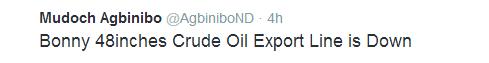 , Niger Delta Avengers blew oil line in Bonny after ending ceasefire, Latest Nigeria News, Daily Devotionals & Celebrity Gossips - Chidispalace