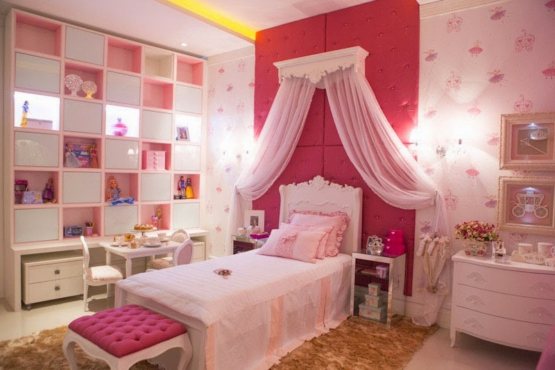 Cómo Decorar un Dormitorio de Princesa Disney Bedroom Princess by artesydisenos.blogspot.com
