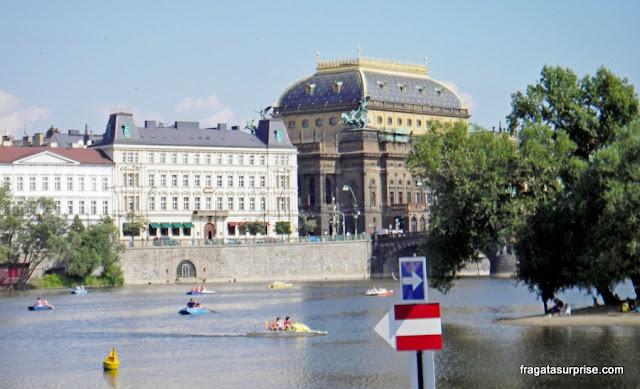 Praga, República Tcheca, Teatro Nacional