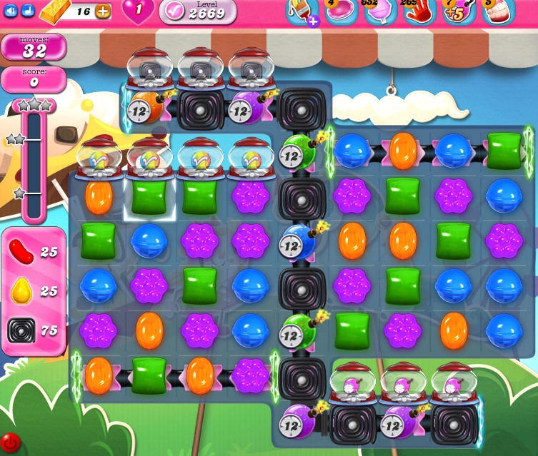 Candy Crush Saga level 2669
