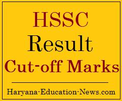 image: HSSC Result, Cut-off Marks 2021 @ Haryana-Education-News.com