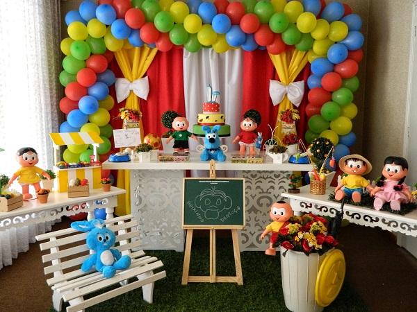 festa-de-aniversario-infantil-com-o-tema-da-turma-da-monica